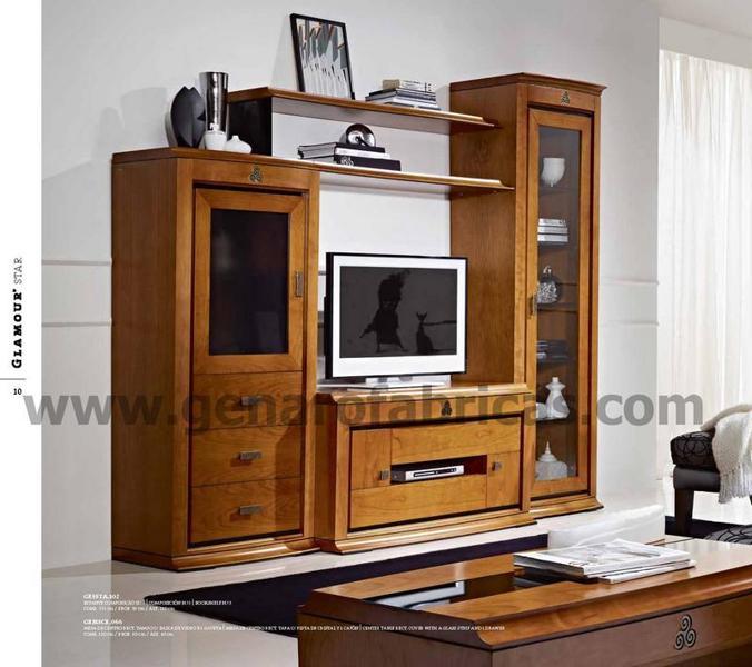 Mueble salon gen90 muebles y decoraci n for Mueble y decoracion
